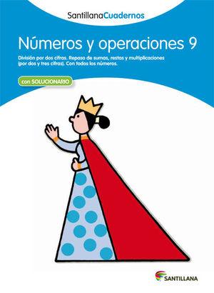 CUADERNO NUMEROS Y OPERACIONES 9 SANTILLANA