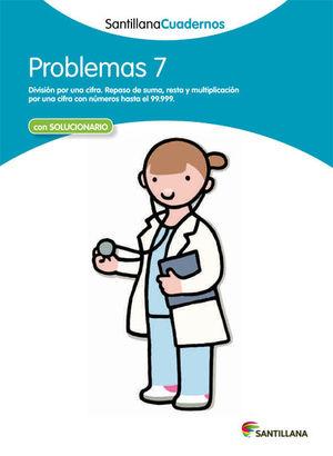 CUADERNO PROBLEMAS 7 SANTILLANA