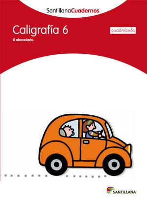CUADERNO CALIGRAFIA 6 CUADRICULA SANTILLANA