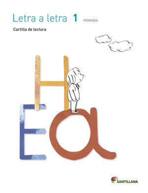 1EP CARTILLA LECTURA LETRA A LETRA 2014