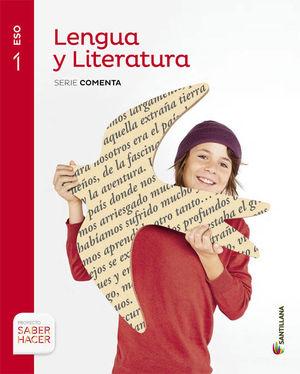 1ESO LENGUA Y LITERATURA  SANTILLANA 2015 COMENTA SABER HACER