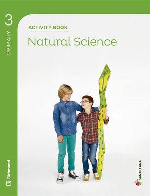 3EP NATURAL SCIENCE 3 PRIMARY ACTIVITY BOOK 2014 SANTILLANA