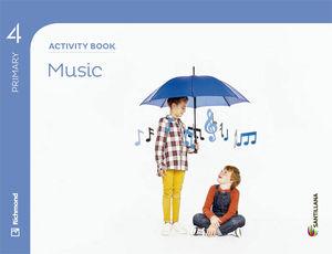 4EP MUSIC ACTIVITY BOOK 2015 SANTILLANA