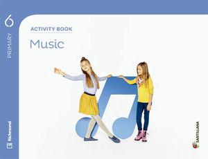 6EP MUSIC ACTIVITY BOOK 2015 SANTILLANA