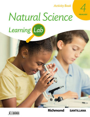 4EP NATURAL  SCIENCE LEARNING LAB ACTIVITY 2019 SANTILLANA
