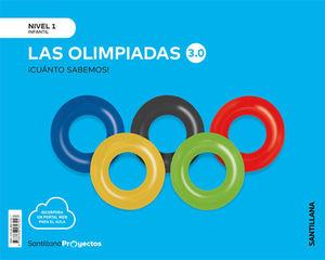 1EI LAS OLIMPIADAS 3.0 NIVEL 1 CUANTO SABEMOS 2020 SANTILLANA