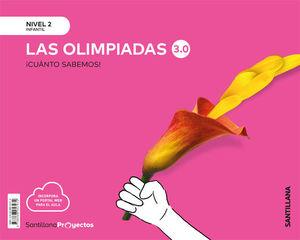 2EI LAS OLIMPIADAS 3.0 NIVEL 2 CUANTO SABEMOS 2020 SANTILLANA