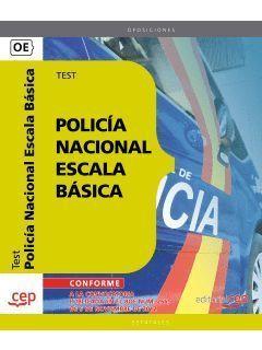 POLICÍA NACIONAL ESCALA BÁSICA TEST 2013 CEP