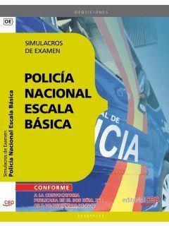 POLICÍA NACIONAL ESCALA BÁSICA SIMULACROS DE EXAMEN CEP 2013