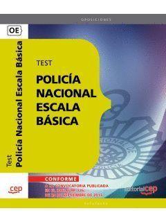 POLICÍA NACIONAL ESCALA BÁSICA TEST