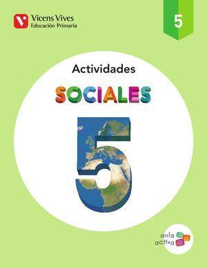 5EP CUADERNO C. SOCIALES ACTIVIDADES AULA ACTIVA 2014 VICENS VIVES