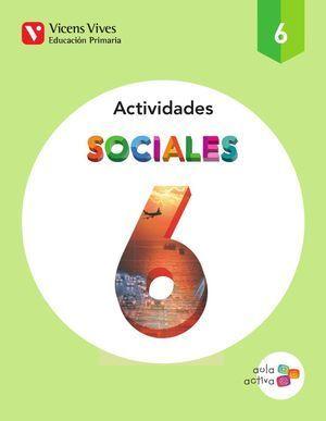 6EP CUADERNO SOCIALES 6 VICENS VIVES