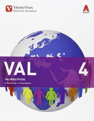 4ESO VALORES ETICOS AULA 3D 2015 VICENS VIVES