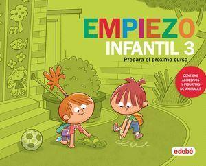 VACACIONES 3 AÑOS EMPIEZO INFANTIL
