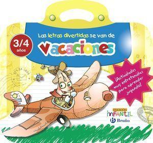 LAS LETRAS DIVERTIDAS SE VAN DE VACACIONES 3 AÑOS
