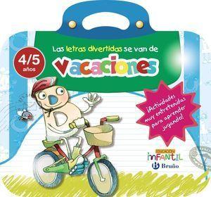 LETRAS DIVERTIDAS SE VAN DE VACACIONES 4 AÑOS