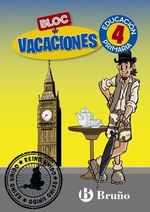 BLOC DE VACACIONES 4EP