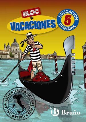 BLOC DE VACACIONES 5EP