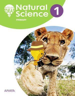 1EP NATURAL SCIENCE PUPIL'S BOOK 2018 ANAYA