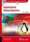 IMPLANTACION DE SISTEMAS OPERATIVOS. CFGS. INCLUYE CD-ROM