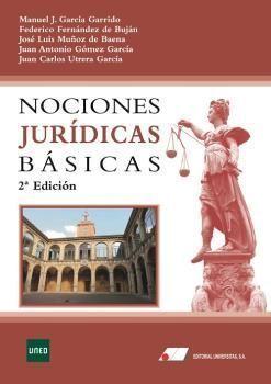 NOCIONES JURIDICAS BASICAS 2019. 2ª EDICION