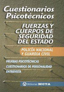 PSICOTECNICOS FUERZAS Y CUERPOS SEGURIDAD ESTADO POLICIA NACIONAL Y GUARDIA CIVIL META 2005