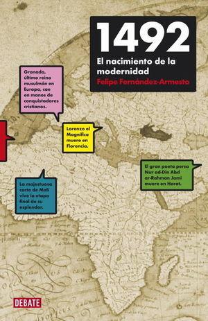 1492, EL NACIMIENTO DE LA MODERNIDAD