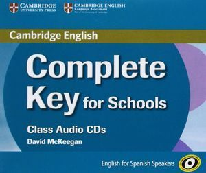 COMPLETE KEY FOR SCHOOLS FOR SPANISH SPEAKERS CLASS AUDIO CDS (3)