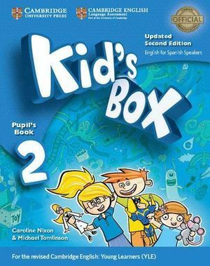 KID'S BOX LEVEL 2 PUPIL'S BOOK WITH MY HOME BOOKLET UPDATED ENGLI