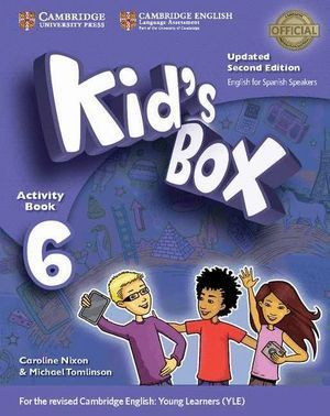 KID'S BOX LEVEL 6 ACTIVITY BOOK WITH CD ROM AND MY HOME BOOKLET UPDATED ENGLISH