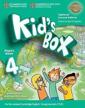 KID'S BOX LEVEL 4 PUPIL'S BOOK UPDATED ENGLISH FOR SPANISH SPEAKE