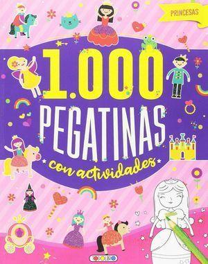1000 PEGATINAS CON ACTIVIDADES- PRINCESAS