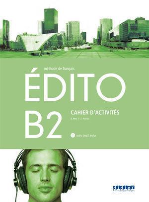 1BTO EDITO B2 EXERCICES +CD 1º BACHILLERATO