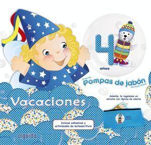 VACACIONES POMPAS DE JABÓN 4 AÑOS