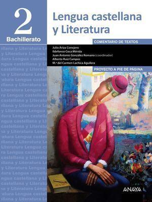2BTO LENGUA Y LITERATURA PROYECTO A PIE DE PÁGINA