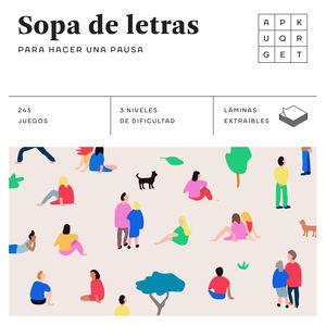 SOPA DE LETRAS PARA HACER UNA PAUSA (CUADRADOS DE DIVERSIÓN)