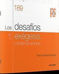 DESAFIOS DE LA EXEGESIS CONTEMPORANEA,LOS