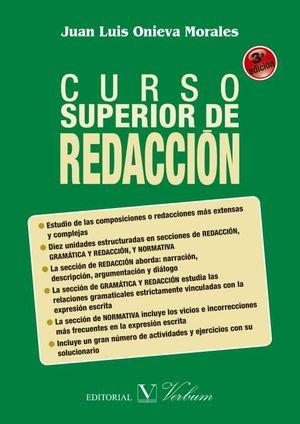 CURSO SUPERIOR DE REDACCION 3ª EDICION
