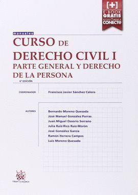 CURSO DE DERECHO CIVIL I