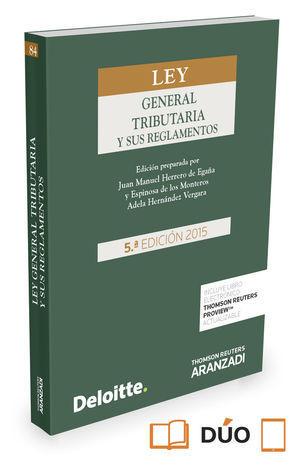 LEY GENERAL TRIBUTARIA Y SUS REGLAMENTOS