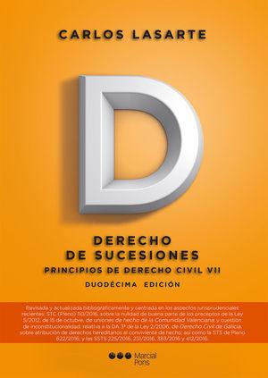 PRINCIPIOS DE DERECHO CIVIL. TOMO VII (12ªED). DERECHO DE SUCESIONES