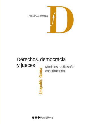 DERECHO DEMOCRACIA Y JUECES