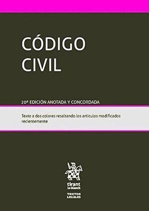 CÓDIGO CIVIL 20ED. 2016