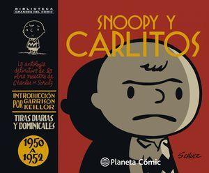 SNOOPY Y CARLITOS 1950-1952 Nº 01/25 (NUEVA EDICIÓN)