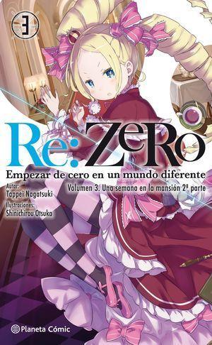 RE:ZERO Nº 03 (NOVELA)