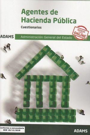AGENTES DE HACIENDA PÚBLICA. CUESTIONARIOS. ADAMS 2019