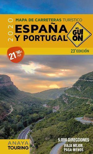 2020 MAPA DE CARRETERAS ESPAÑA- PORTUGAL. EL GUIÓN 1:340.000 (2020)