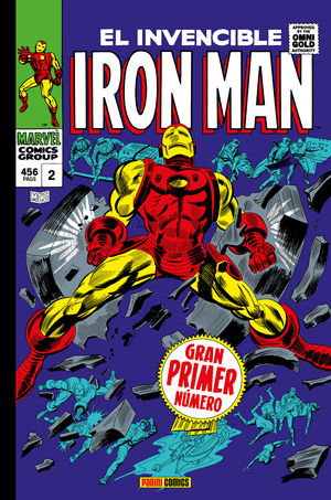 IRON MAN 02: BY THE FORCE OF ARMS NACE IRON MAN (MARVEL GOLD)