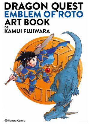 DRAGON QUEST EMBLEM OF ROTO ART BOOK