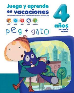 CUADERNO DE VACACIONES 4 AÑOS PEG+GATO